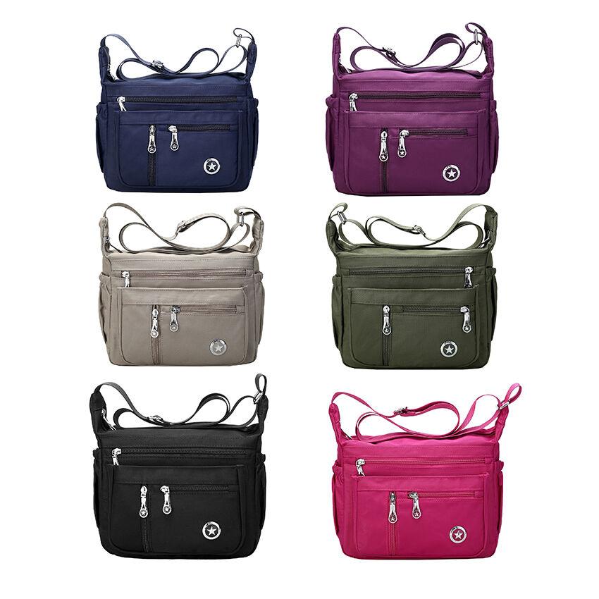 Casual Purses Shoulder Handbags for Women Nylon Crossbody Ba