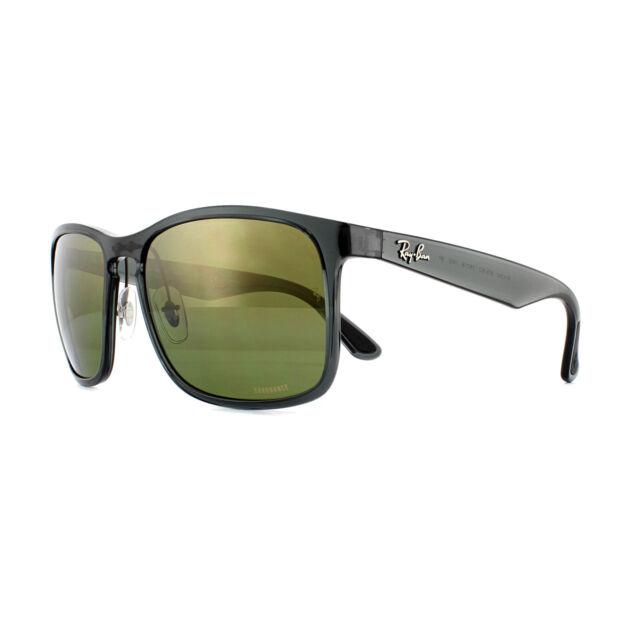 bd60f513a Ray-Ban Sunglasses RB4264 876/6O Shiny Grey Green Polarized Mirror Chromance