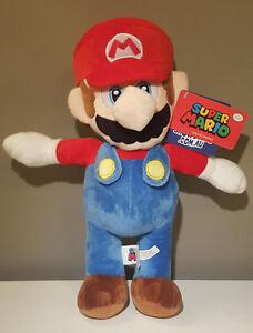 Super-Mario-Plush-Nintendo-Super-Mario-Bros-New-with-Tags-Soft-Authentic
