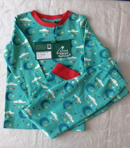 2-3 Years Little Green Radicals  Boy/'s  Pyjama 2 Piece Set