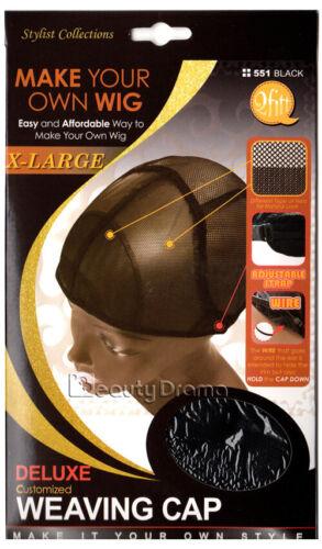 M/&M HeadGear Qfitt Custom Deluxe Weaving Cap EXTRA LARGE #551