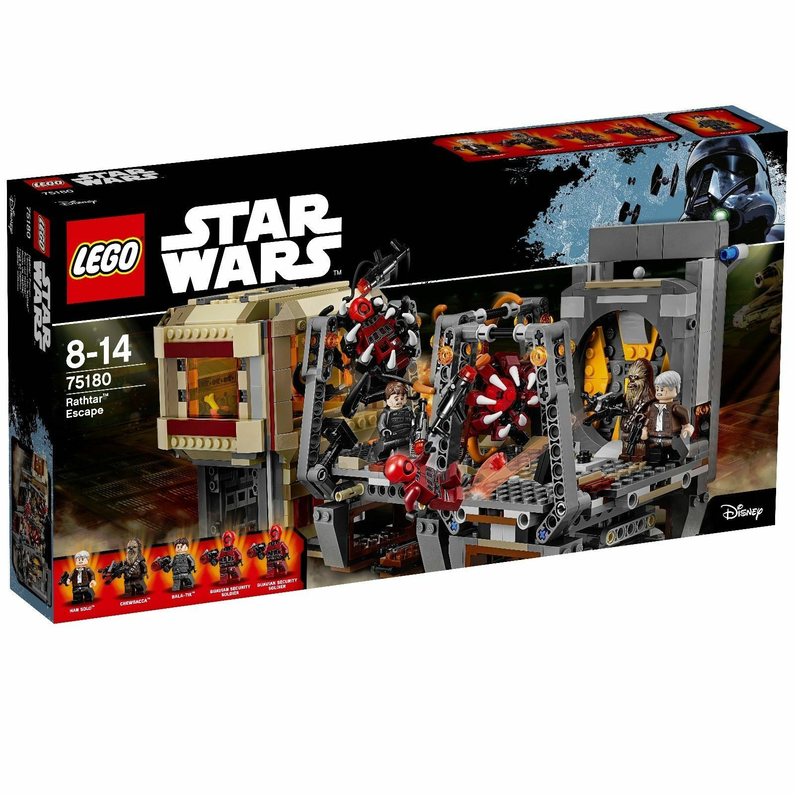 LEGO 75180 Star Wars Rathtar Escape 2017