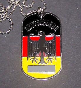 Royal German Deutschland Empire War Battle Eagle Arms Pendant Chain ...