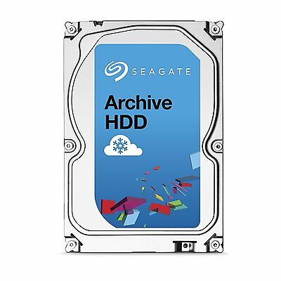 "Seagate Archive 8TB 3.5"" SATA Internal NAS Hard Drive HDD 5900RPM 128MB Cache"