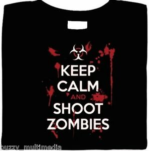 Zombie-Shirt-Keep-Calm-and-Shoot-Zombies-Funny-Bloody-Keep-Calm-Shirt