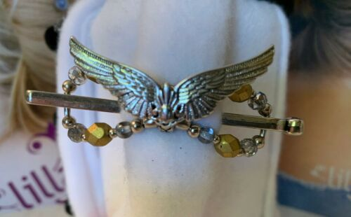 """Lilla Rose /""""Angel Wings/"""" Flexi Hair Clip Size Small /""""Brand New/"""" #2973"""