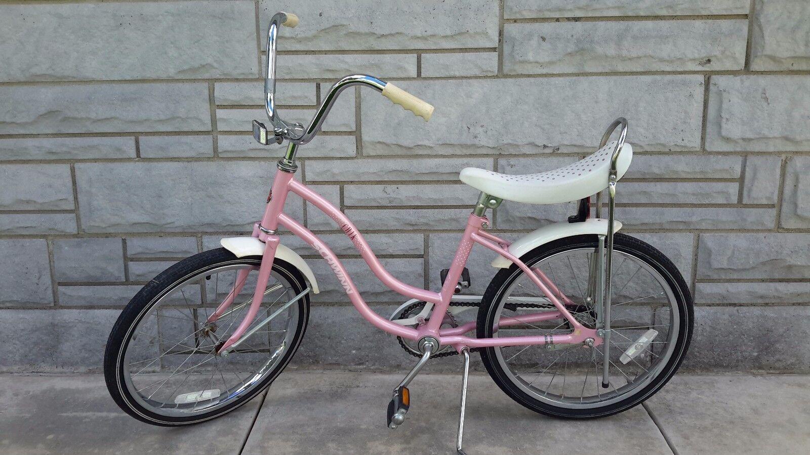 Schwinn 'lil'  k bike, pink,  made in Japan,  211.  a lot of surprises