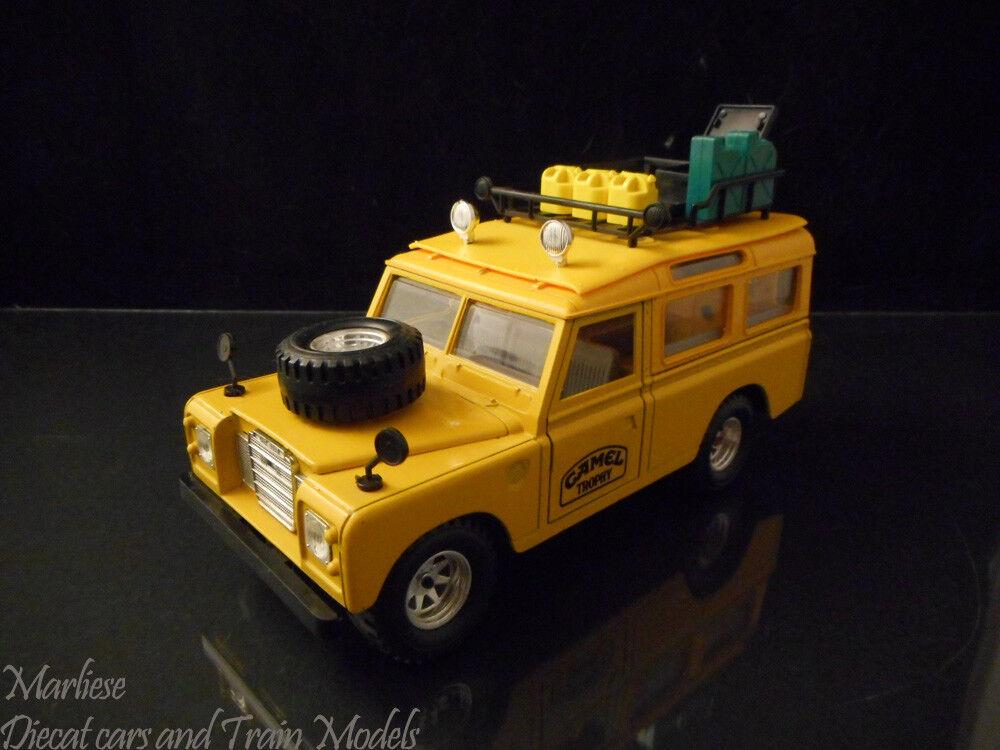 Ultra Rare Bburago Burago 1 24 Land rover defender Camel Trophy cod 0167