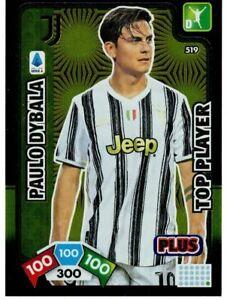 PANINI ADRENALYN XL CALCIATORI 2020-2021 CARD N. 519 DYBALA (TOP PLAYER PLUS)