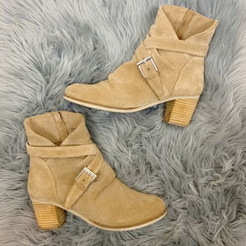 Matisse Size 8.5 Harper Suede Leather Ankle Boot B
