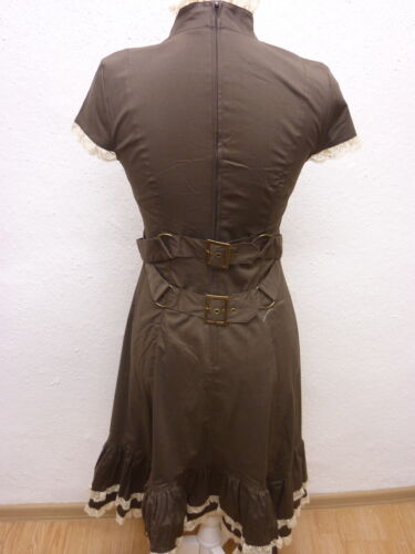 Gothique Steampunk Gr m Spin Robe Marron Doctor s dpZw8x