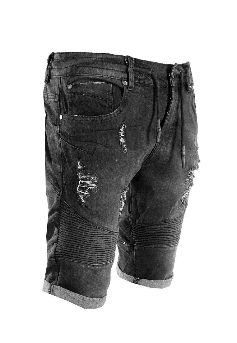 Project X Paris Jean Shorts Men 88169910 Dark Grey
