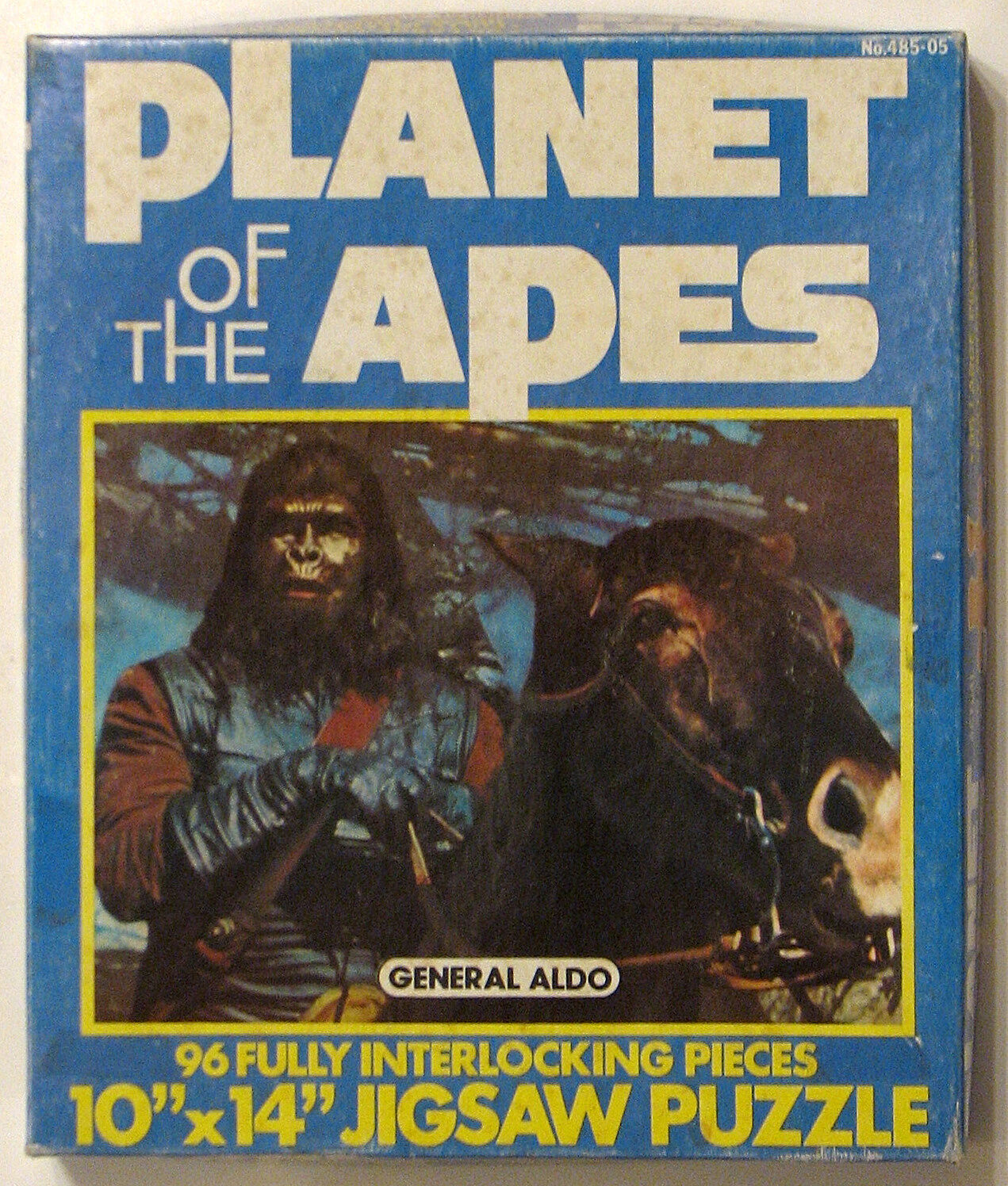 La Planète des singes général Aldo 96 PC Puzzle 1967 W boîte d'origine