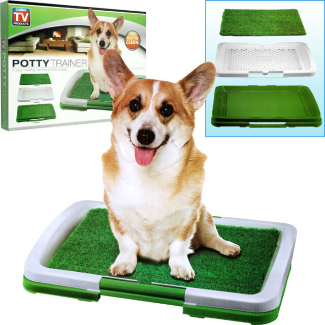 New Puppy Dog Potty Trainer Indoor Turf Grass Training Patch - 3 Layers