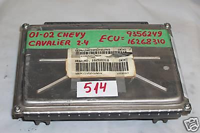 Engine Computer Programmed Plug/&Play 2002 Chevy Cavalier 16268310 2.4L ECM PCM