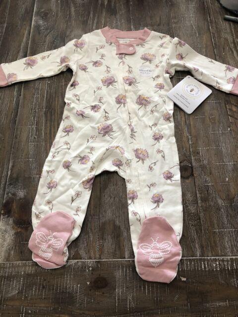 Hatley Baby Boys Organic Cotton Footed Sleepers