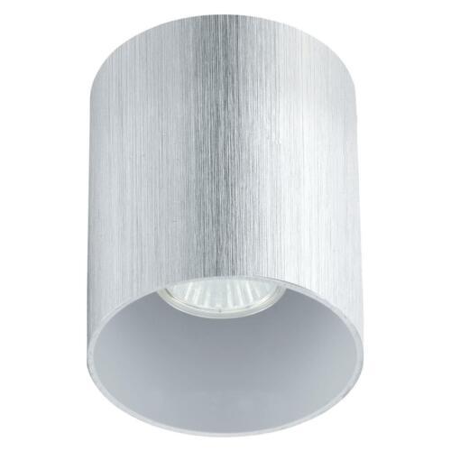 Bantry runde Deckenleuchte alu gebürstet GU10 Deckenlampe Eglo 91196 NEU