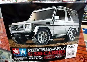 Tamiya 58629 Mercedes-Benz G 320 Cabrio MF-01X 4WD RC Car Kit *WITH* Tamiya ESC