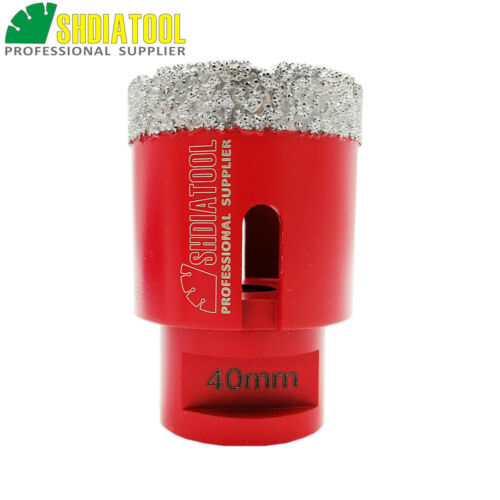 1pc Dry Diamond Drill Core Bits Drilling Hole Saw for Tile Marble Granite Stone