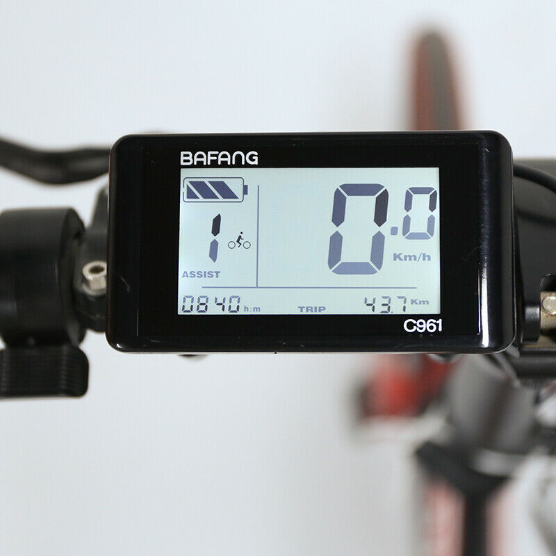 Bafang C961 LCD Panel Display for Mid-drive Motor Kits Electric  Bicycle Ebike  for cheap