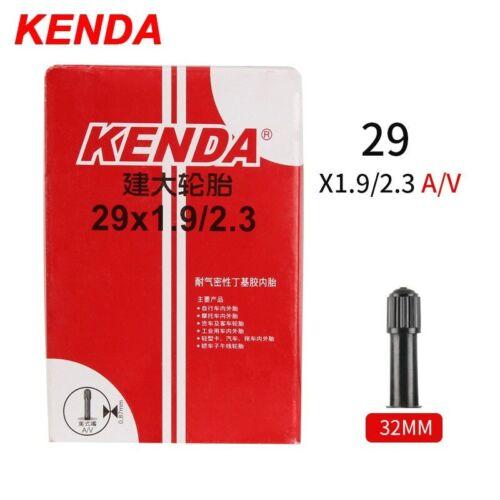 2 X Kenda Bike Inner Tube For Mountain Road Tyre Butyl Rubber Bicycle 26//27.5//29