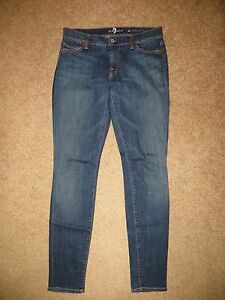 For Wash Jeans 28 Skinny Skinny Blue 7 Legging All Dark Mankind P7ndf