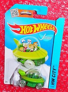 Contemporary Manufacture THE JETSONS CAPSULE CAR #57 Lot of 2-2015 HOT WHEELS Cars, Trucks & Vans