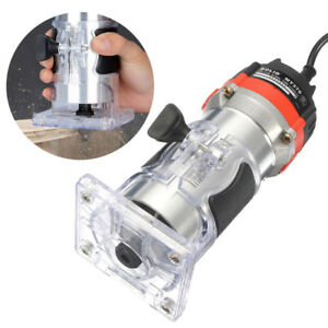 220v 35000rpm 530w 1 4 electric hand trimmer holz laminierger t router tool ebay. Black Bedroom Furniture Sets. Home Design Ideas