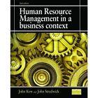 Human Resource Management in a Business Context by John Kew, John Stredwick (Paperback, 2013)
