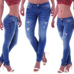 Damen Hüft Jeans Hose mit Gürtel Skinny Stretch Slim Fit Röhre Röhrenjeans Grau