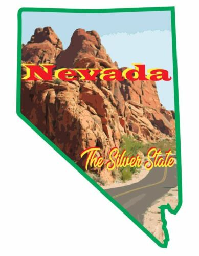 Nevada Sticker Decal R7062