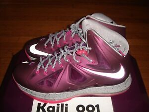 brand new de9bb 63a1e Image is loading Nike-Lebron-10-Sports-Pack-Promo-Size-12-