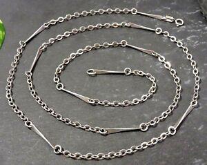 Chice-800-Silber-Kette-Teeny-HWS-Skandinavien-Daenemark-Designer-Staebe-Glieder
