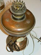 vintage ancien VILLEDIEU M.DELALANDE LAMPE de cuisine KITCHEN lamp CUIVRE copper