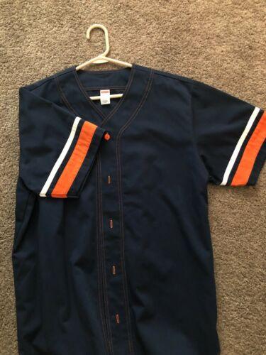 Supreme Baseball Jersey Large Blue