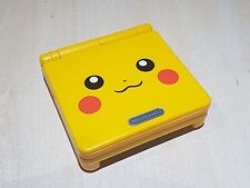 Backlit Backlight Pikachu Game Boy Advance SP Console ags101 New Refurbished GBA