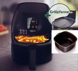 Philips-HD-9248-90-Airfryer-Heissluft-Fritteuse-Fritoese-Grillpfanne-Backeinsatz