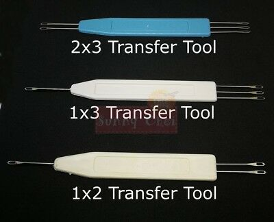1 X 3 transfer tool for mid gauge knitting machine 6 /& 6.5mm