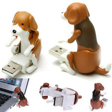 Funny USB Cute Pet Humping Spot Dog Toy Christmas Gift Gray