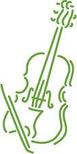 waehlbar AP0667 Aufkleber Applikation Deko silber Instrument Trompete in 7 Gr