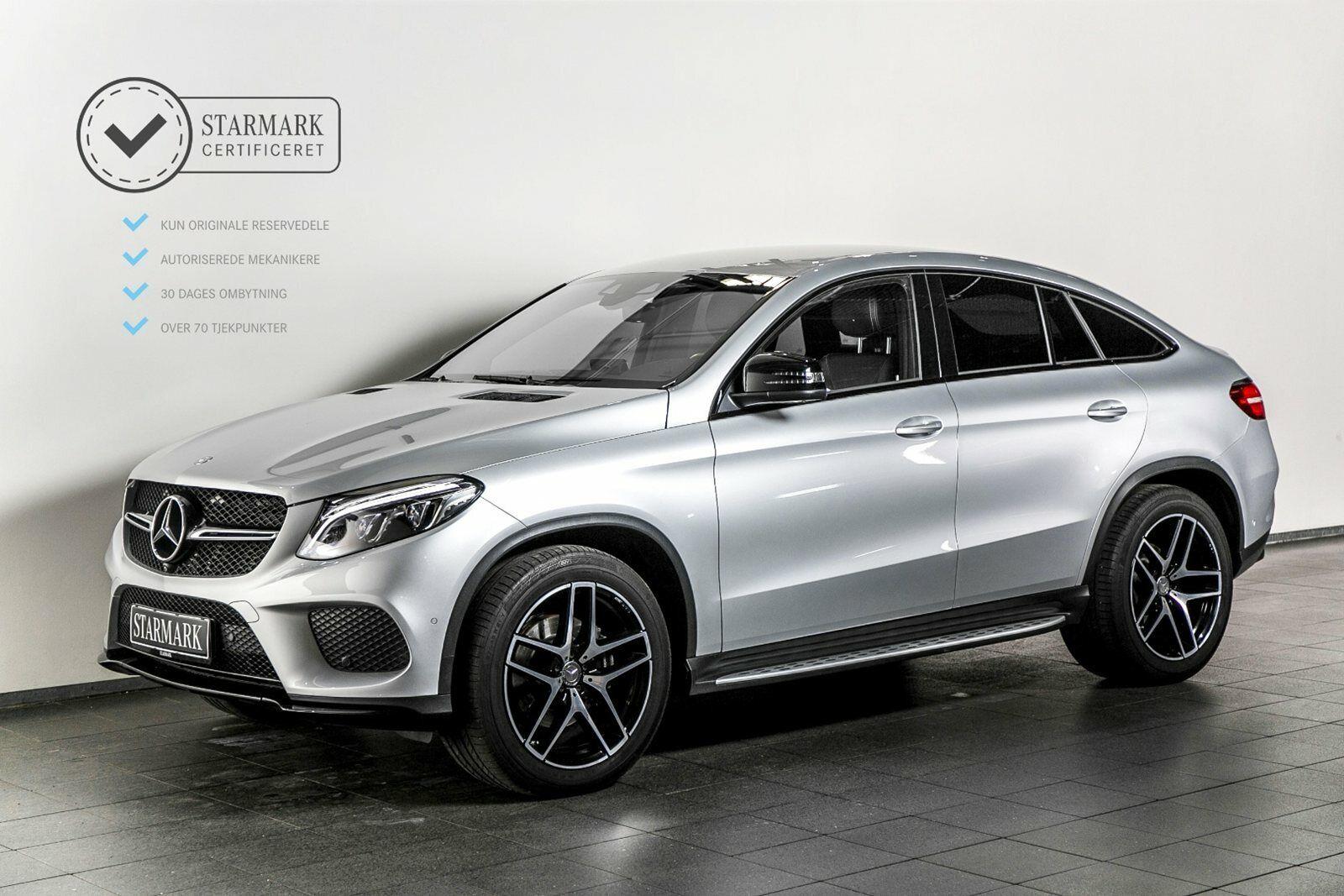 Mercedes GLE350 d 3,0 Coupé aut. 4-M 5d - 839.900 kr.