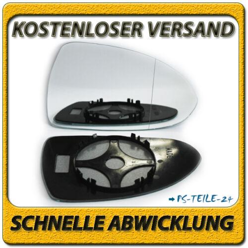 Spiegelglas für OPEL CORSA D 2006-2013 rechts Beifahrerseite asphärisch