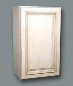 Tuscany White Maple Wall Cabinets Sizes W9x30 up to W42x30