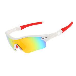 RockBros Polarized Cycling Glasses Run Ride Hike Sunglasses Goggles White UV400