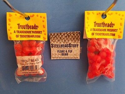 Troutbeads Caramel Roe 6mm Trout  Bead Egg Steelhead $2.50 US Combined Shipping*