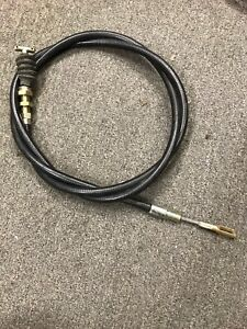 Unimog 404, pair of hand brake cables