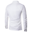 Luxury-Men-Casual-Shirt-Slim-Long-Sleeve-Formal-Business-Dress-Shirt-T-Shirt-Top thumbnail 8