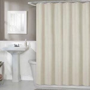 Image Is Loading Titan Waterproof Premium Fabric Shower Curtain Liner 70
