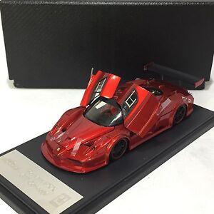 1-43-Scale-Meko-Ferrari-FXX-GT-Concept-F1-Red-Resin-Open-amp-Close