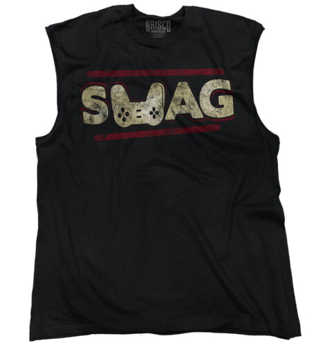 Swag Gamer ShirtXbox 360 PC Playstation 4 Vita Nerd Geek Sleeveless T Shirt